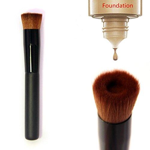 Sunnywill Flat-Face Brush Premium Foundation Make-up Pinsel zu perfektionieren für Mädchen Frauen Damen