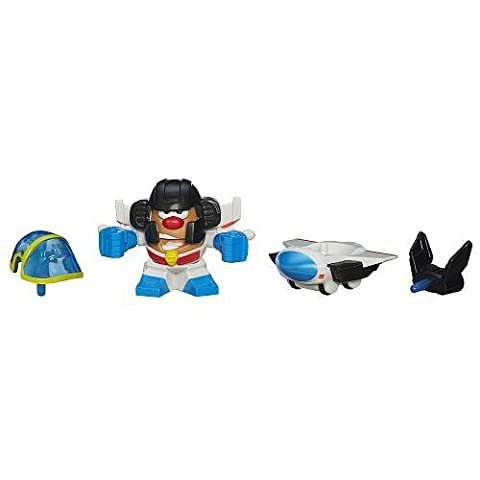 Playskool Mr. Potato Head Transformers Mixable, Mashable Heroes as Starscream Robot and Jet by
