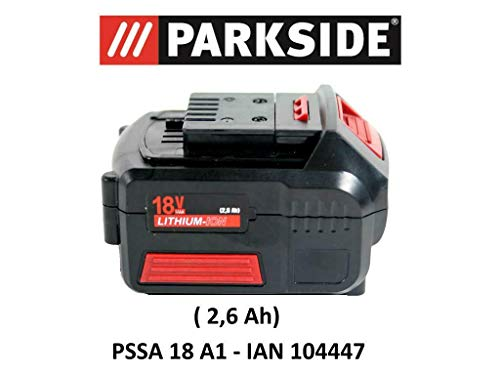PARKSIDE AKKU 18V 2,6 Ah PAP 18-2.6 A1 für PSSA 18 A1 - IAN 104447 Akku Säbelsäge
