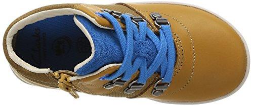 Clarks MaxiSquare Fst Baby Jungen Lauflernschuhe Braun (Brown Leather)