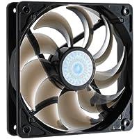 CoolerMaster 120MM 2000 RPM duradero manga rodamiento ventilador - Negro