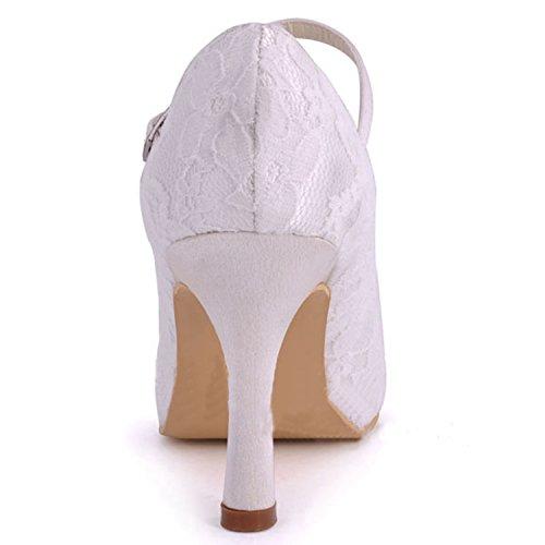 Tendenza Centimetri Avorio Donna Sposa Da Minitoo Scarpe 9 Tacco pq7FnwBA