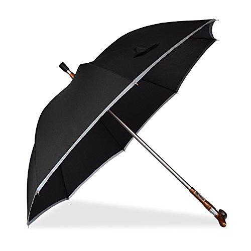 LWFB Krücken Regenschirm / Teilbar / Mit Reflexstreifen / Sunny Rain Dual-use / Multifunktionale...