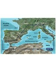 Garmin BlueChart G2 VISION VEU715L Mediterranean West Europe SD Karte 2016