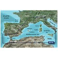 Garmin BlueChart g2Vision veu715l Mediterranean West Europe tarjeta SD 2016