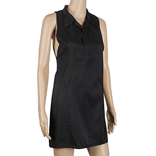 Bedeckt Knopf Vorne (Segbeauty® Friseur Kittel Stylist Weste Friseur Schürze, Haustier Groomers Kleid mit 2 Taschen, 31,5