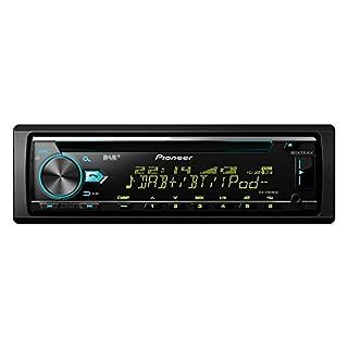 Pioneer DEH-X7800DAB | 1DIN Autoradio | CD-Tuner mit RDS | FM und DAB/DAB+ Tuner | CD | Bluetooth | MP3 | USB | AUX-Eingang | Bluetooth Freisprecheinrichtung | Kompatibel mit Android und iPod/iPhone