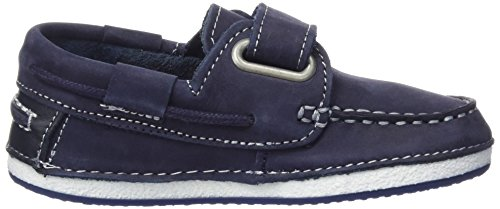 Garvalin Ouessant, Chaussures bateau garçon Bleu (Azul/Nobuck)
