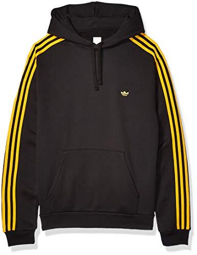 adidas Originals Herren Skate Mini Shmoo Hooded Sweatshirt, Schwarz/Aktiv Gold, X-Groß
