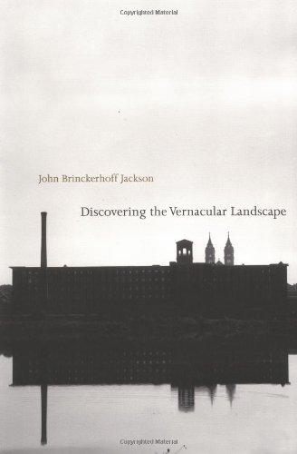 Discovering the Vernacular Landscape