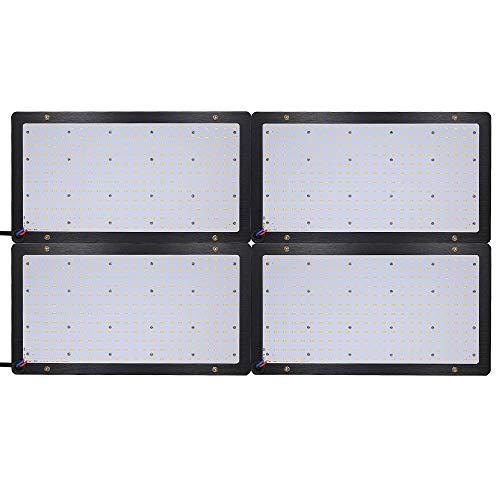 Weehey 600W LED Grow Board Vollspektrum Quantum Board LED Panel Grow Light für Hydroponic Greenhouse Zimmerpflanze Blume Vegetatives Wachstum