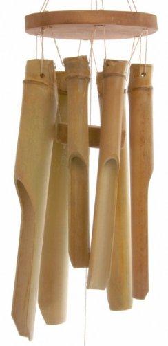 Windspiel, orientalischer Stil, Glockenspiel aus kurzen Bambusrohren