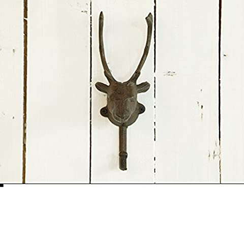 retro Horns hook Wall-mounting type decoration-A