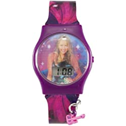 Hannah Montana girls LCD lenticular changing image dial watch