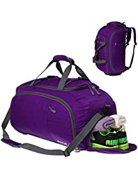 a7950080f0 Coreal 45L Duffel Gym Sports Bag with Shoe Compartment Men   Women