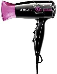 Bosch PHD2511 Haartrockner StarShine 1800 Watt, schwarz mit Sterne Dekor