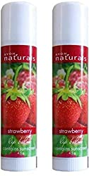 Avon Natural Strawberry Lip Balm (Set of 2 of 4.5g each) Strawberry