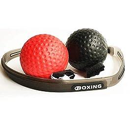 Boxaball, Reflex ball boxe ,fight ball reflex, il coordinamento, i riflessi e l'abilità, Boxe Fight Ball Reflex per migliorare le reazioni di velocità e la coordinazione occhio mano, la forma fisica