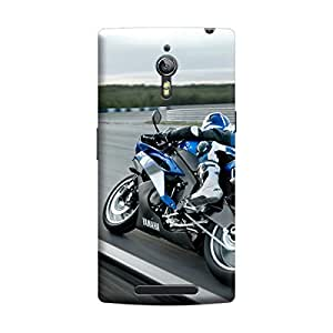 Ebby Premium Printed Back Case Cover With Full protection For Oppo Find 7 (Designer Case)