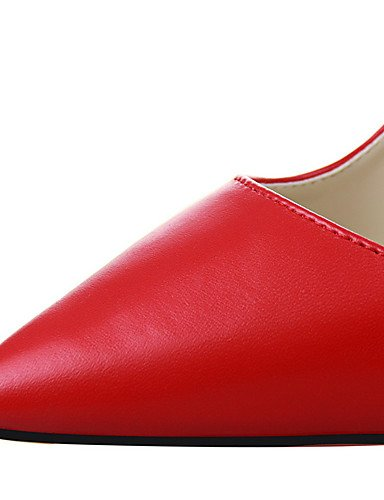 WSS 2016 Chaussures Femme-Extérieure / Bureau & Travail / Soirée & Evénement-Noir / Jaune / Rose / Rouge / Argent / Gris / Fuchsia-Talon Compensé- fuchsia-us8 / eu39 / uk6 / cn39