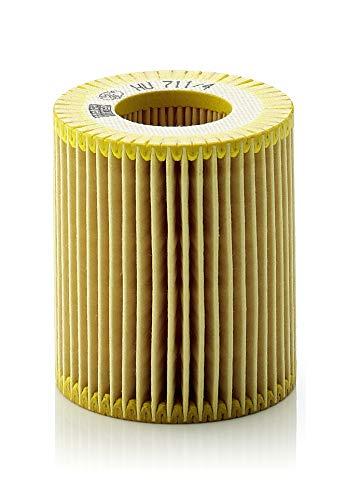 Original MANN-FILTER Ölfilter HU 711/4 X - Ölfilter Satz mit Dichtung / Dichtungssatz - Für PKW