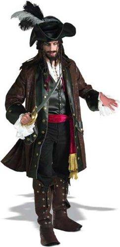 Caribbean Piraten Kostüm (Deluxe Kostüme Pirat Caribbean)