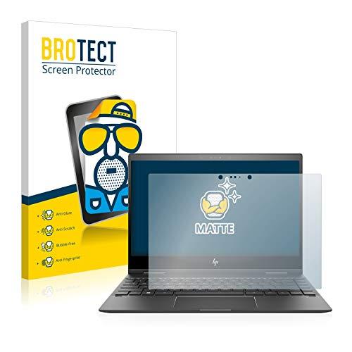 BROTECT Entspiegelungs-Schutzfolie kompatibel mit HP Envy x360 13-ag0001ng (1 Stück) - Anti-Reflex, Matt