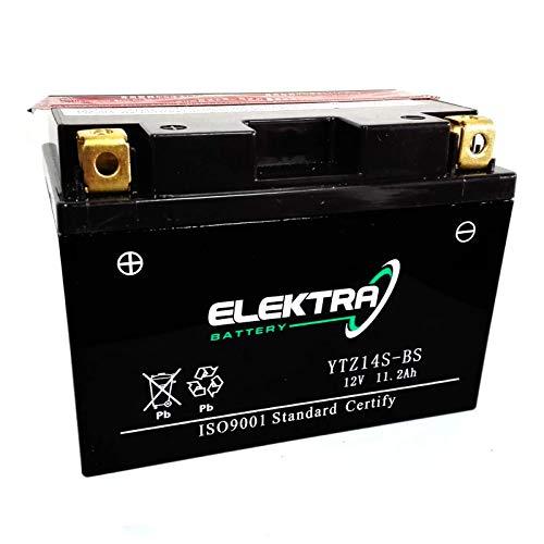 Batteria sigillata potenziata Elektra YTZ14S-BS/YTZ12S-BS 12 V 11,2 Ah 230 CCA