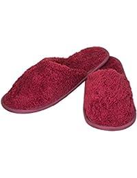 Old Cobbler Women's Maroon Slippers (6 UK/24.5 cm)