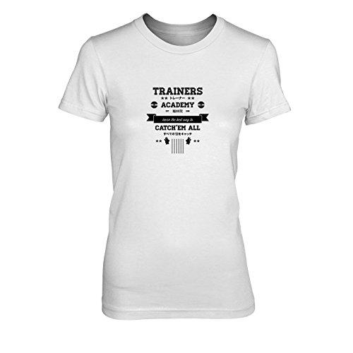 Trainers Academy - Damen T-Shirt, Größe: XL, Farbe: weiß