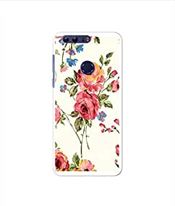 Kaira High Quality Printed Designer Soft Silicon Back Case Cover For Huawei Honor 8(448)