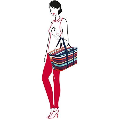 reisenthel acquisti coolerbag / Borsa frigo - aquarius Rosso|multicolore
