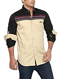 Rapphael Full Sleeve Slim Fit Shirt For Men