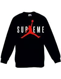 Beautiful T-shirt Maglietta Replica Supreme Jordan Air Taglie Bambino Ragazzo Bambino: Abbigliamento