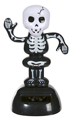 el Figur Skelett schwarz Knochen Skull Totenkopf Halloween (Halloween-figur)