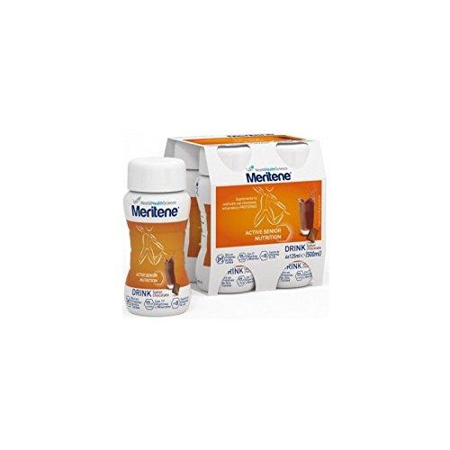 Meritene Active Senior Nutrition Drink Sabor Chocolate 4x125ml