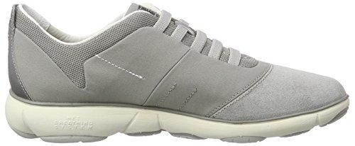 Geox D Nebula C, Sneakers Basses femme Grau (LT GREYC1010)