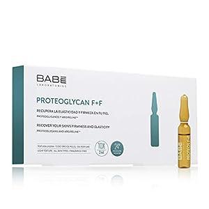 Laboratorios Babé – Ampollas Faciales Proteoglicanos + Argireline (10 Unidades), Hidratación 24 Horas, Rostro Rejuvenecido, Efecto Tensor, Efecto Botox, Efecto Flash, Reestructurante