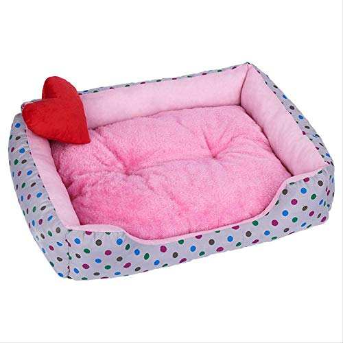 LMDZSW Hund Weiches Bett Komfortable Winter Warme Zwinger Für Haustier Top Qualität Haus Für Katze M 2 -