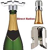 Metal Champagne Bottle Stopper - Winebottle Corks - Stainless Steel Preseverative Champagne bottle