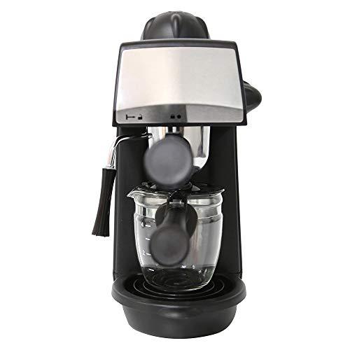 Kaffeemaschine, Filterfunktion Kaffeemaschine Dampf Espresso-Maschine Mit Timer Und Warmhaltefunktion Abnehmbarer Trichter Zur Einfachen Reinigung Von Edelstahl -