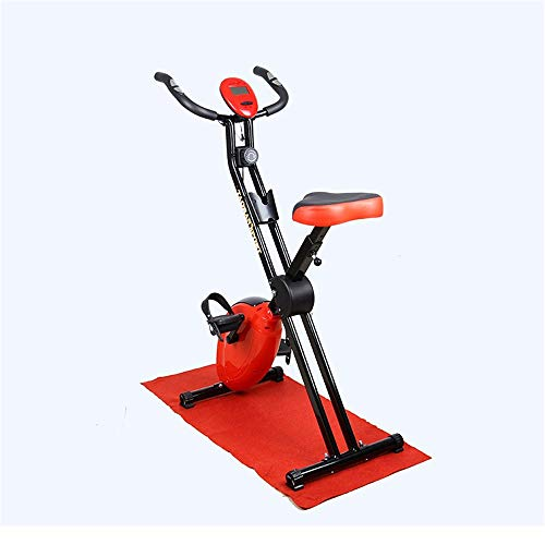 Wanlianer Liegerad Indoor Cycling Bike, Fahrrad Trainer Übung Fahrrad Herzfrequenz Fitness Stationäre Heimtrainer Mit LCD-Display Innen- -