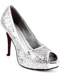 Amazon.es: zapatos mujer talla 42 - Plateado / Zapatos ...