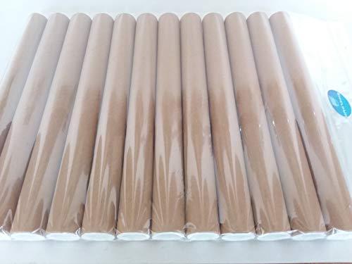 ShieldUp Versandrollen aus starkem Karton, 25 mm Durchmesser, 300 mm lang, 12 Stück