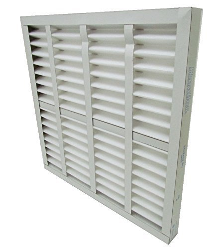 AIR HANDLER 16x25x1 Pleated Air Filter, MERV 7 (Case of 12) by Air Handler