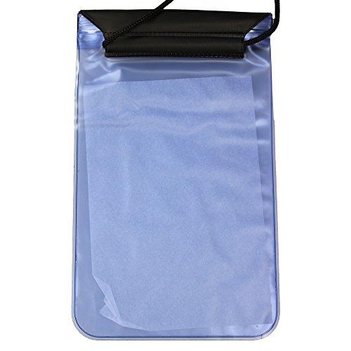 Wasserdichte Hülle - Tasche - Tasche für Kindle Amazon - Kindle Paperwhite - Blau Transparent