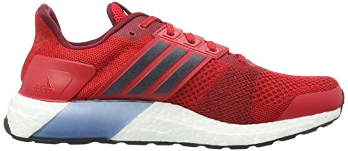 adidas Ultra Boost ST M, Chaussures de Running Entrainement Homme Rouge - Rojo (Rojray / Maruni / Buruni)