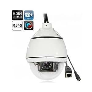 Caméra IP HD 720P dôme de surveillance 360° détection des visages