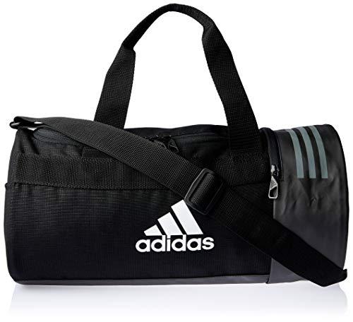Adidas Cvrt 3S, Mochila Unisex Adultos, Negro Negro/Gris/Blanco
