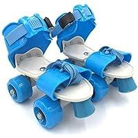Tec Tavakkal Roller Skates Adjustable Inline Skating Shoes for Kids Age Group 5-10 Years